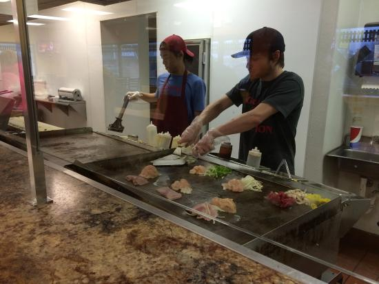 Grand Junction Grilled Steaks : Making them