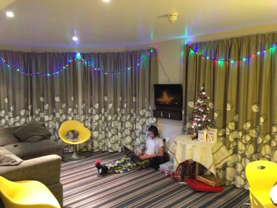 Butlin's Bognor Regis Resort: Christmas in a reef appartment in the wave hotel