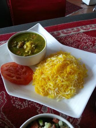 Persian Restaurant: baghali ghatogh