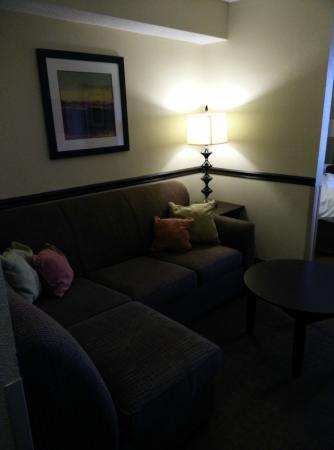 ECCO Suites Augusta: Sitting area.