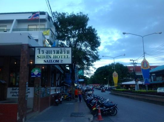 Sirin Hotel: street view