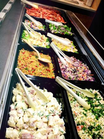 Billabongs Restaurant : New selection of Salads