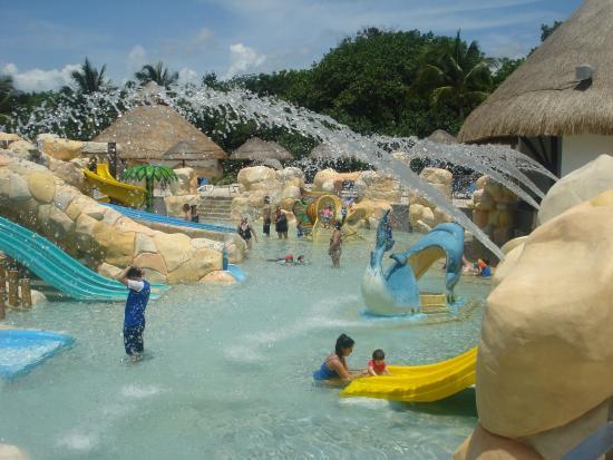 Parque acutico hermoso Picture of Sandos Caracol Eco Resort