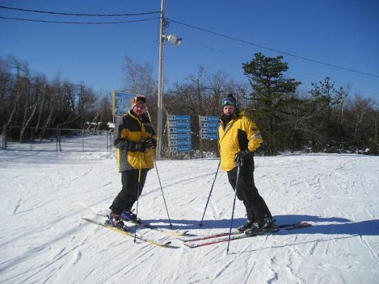 Camelback Mountain Resort : Kevin Baucum skiing Cameback