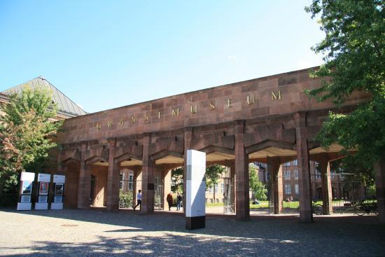 Museum fur Musikinstrumente der Universitat Leipzig: Вход в музей