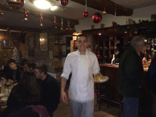 Rose & Crown Inn: Matt 'the happy chef'