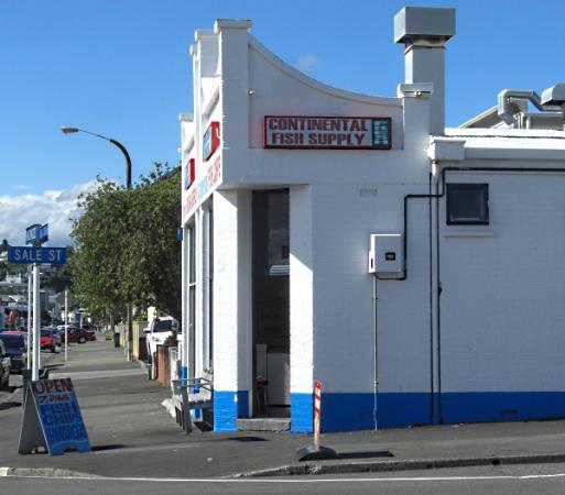 Continental fish supplies napier restaurant reviews for Fishing supply stores