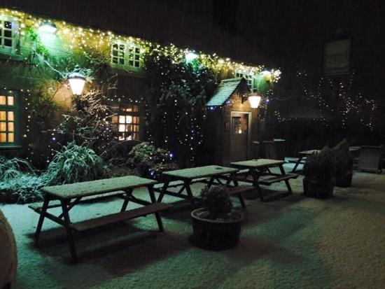 The Tavern Snow Night