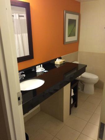 Courtyard Fort Lauderdale East: Bathroom