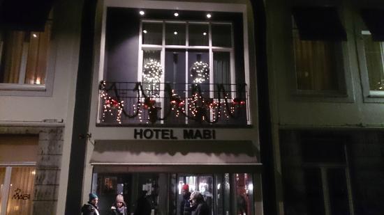 Hotel Mabi : Frontansicht
