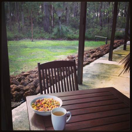 Island Brook Estate : Breakfast with a view