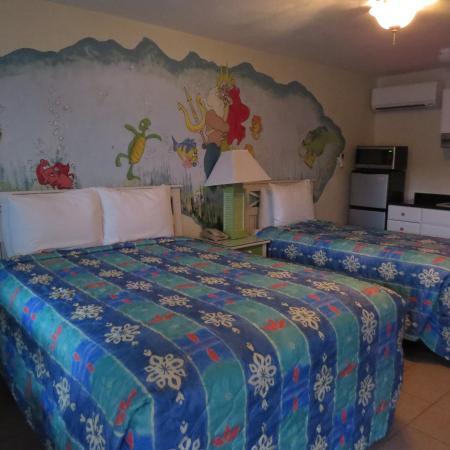 Magic Beach Motel: Our room