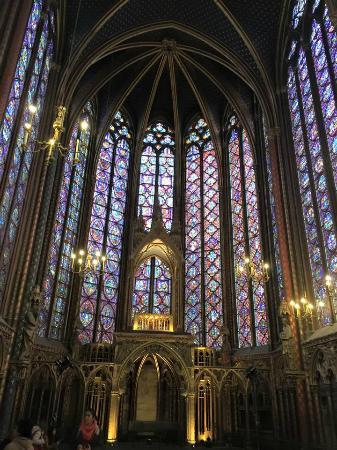 Paris, Frankrike: Caroline's panoramic photo of the windows