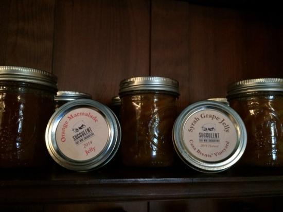 Succulent Cafe: Housemade Jams, Jellies, & picked Veggies