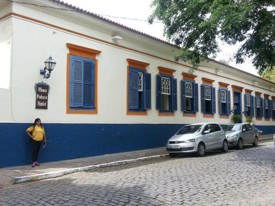 Mara Palace Hotel: faixada externa do hotel
