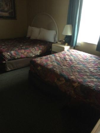 Rodeway Inn & Suites : 2 queen beds