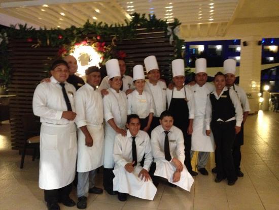 Secrets Silversands Riviera Cancun : Great staff Seaside grill/Oceana.
