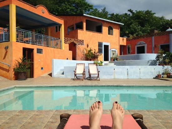 Views from the hotel picture of el jardin hotel san for Camping el jardin san juan