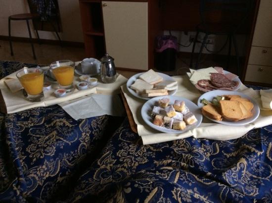 Hotel Palazzo dei Priori colazione a letto