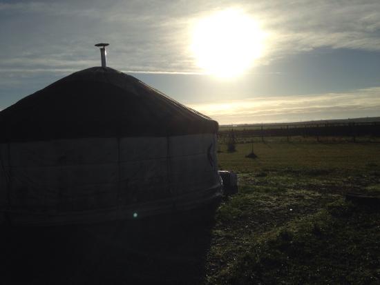 Salignac-sur-Charente, Frankrijk: Soleil levant