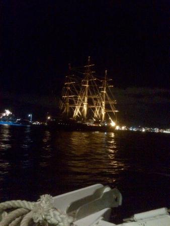 Simpson Körfezi, St-Martin / St Maarten: Heading back