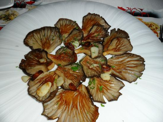 Cafeteria El Aguila : Kanarische gegrillte Pilze mit Knoblauch