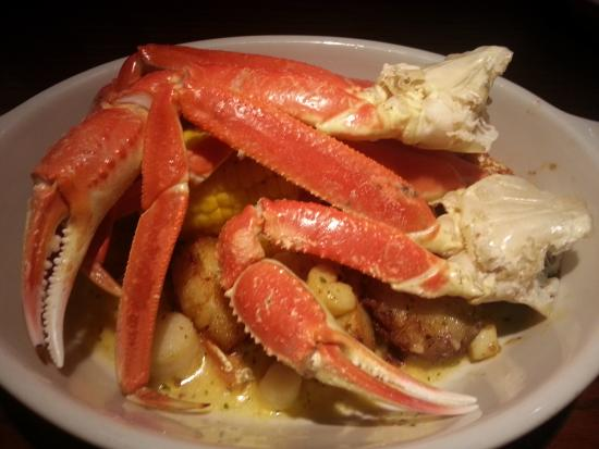 Red Lobster: king crab