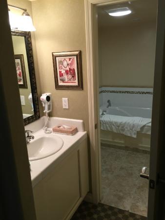 Second Sink Outside Bathroom