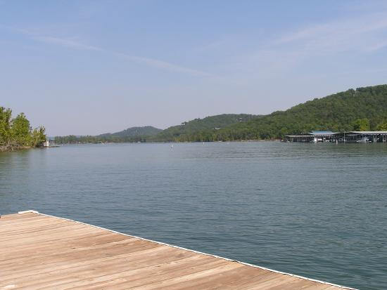 Mill Creek Resort: View from Dock
