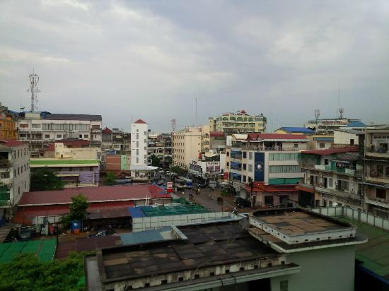 Khmer City Hotel: View