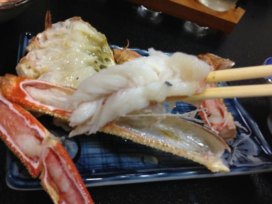 Fukudaya : 焼き蟹