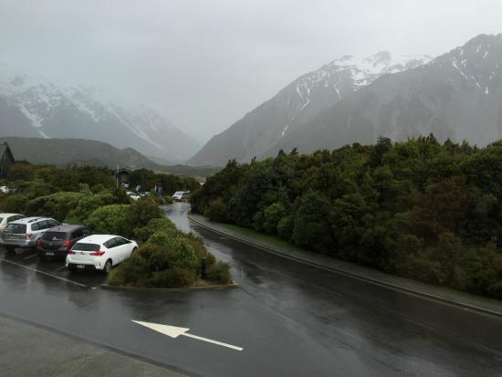 Aoraki Mount Cook Alpine Lodge: View