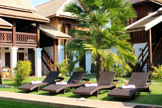Villa Maydou: Garden & Latest building