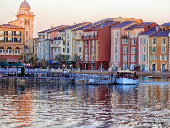 the view from our patio picture of loews portofino bay