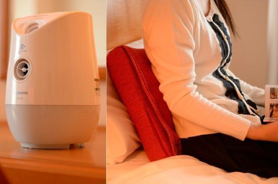 Hotel JAL City Aomori: レディースルームにはナノケアとマッサージクッションを導入