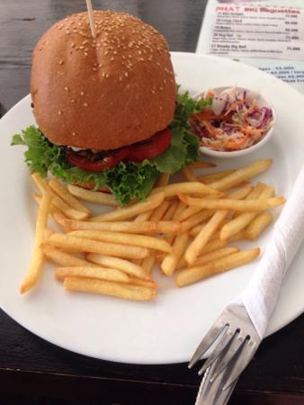 Phat Hamburgers: Triple cheese
