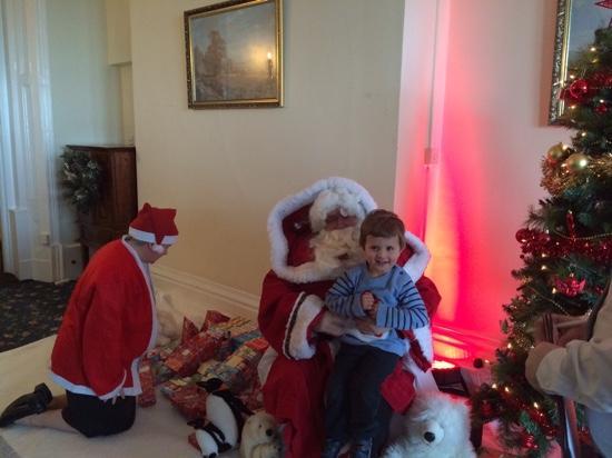 Sefton Hotel: Santa at the Sefton