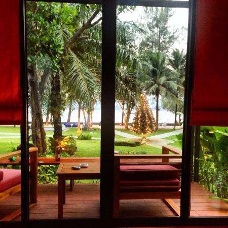 HongShuLin DuJia Hotel Thai Restaurant : View from room 101