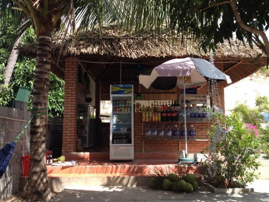 Diem Lien Guesthouse : Backyard bar