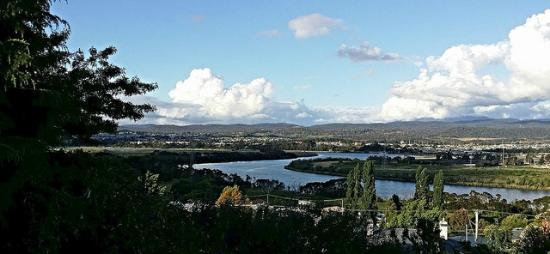 Forest Road Apartments : View of Tamar River from the living room