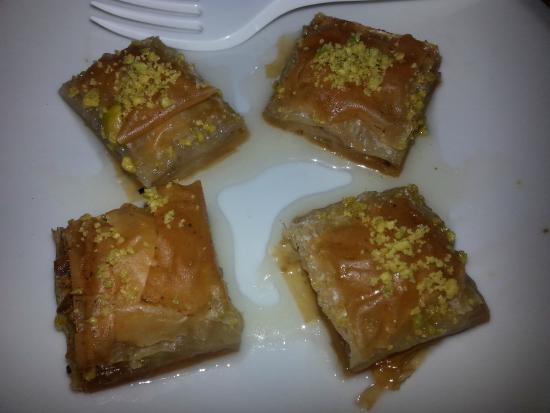 Anatolia Kebap da Hasan: Baklava