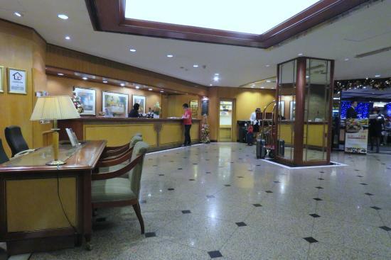 Fullerton Hotel East Taipei: reception area