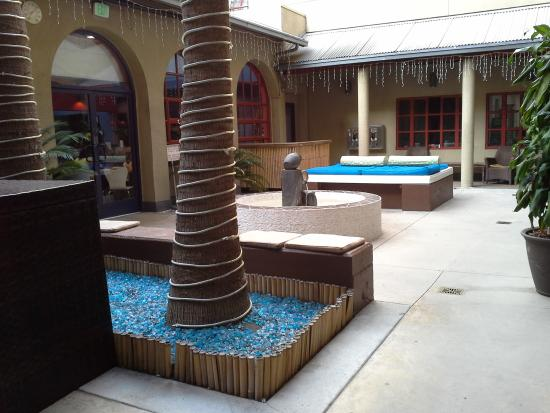 Hostelling International - Los Angeles/Santa Monica : Área para relaxar. Confortável e linda demais!!!!