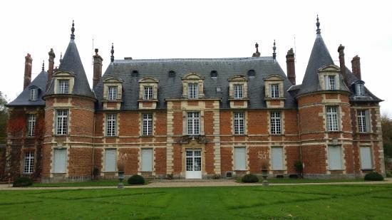 Château de Miromesnil : coté parc