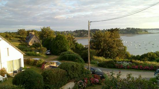 Aux Portes de Brehat : il mare dalla nostra camera