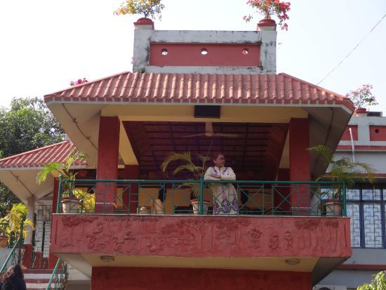Rater Tara Diner Rabi Resort: FRONT BALCONY