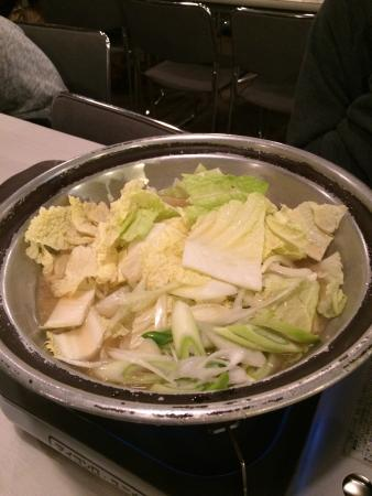 Iiyama, Giappone: 豚の餌(夕食)