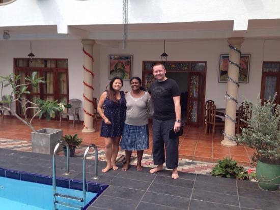 Riverbank Bentota : Pryia make us feel like staying at Sri Lanka family, feels like home! Must try her food, yummy c