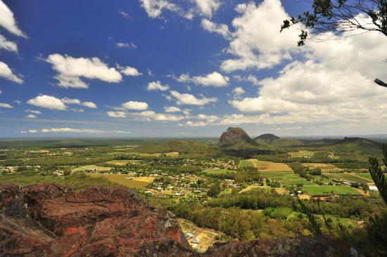 Glass House Mountains, Australien: view in the peak