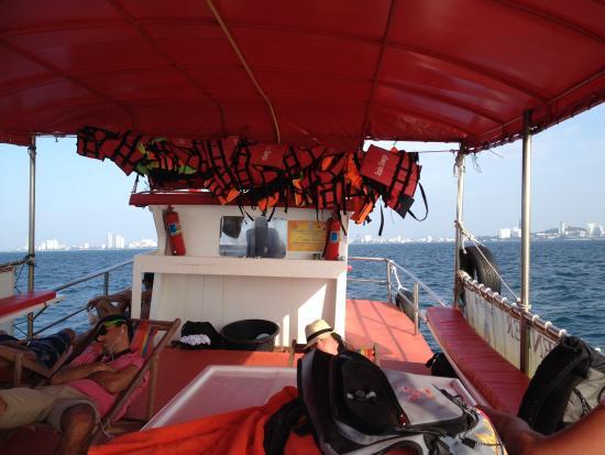 Jomtien Dive Center: Going home